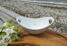 Lille hank skl ST p bord v strand